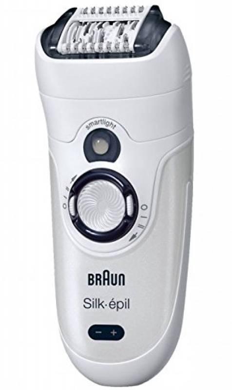 Braun Silk-épil 7 7-531 Nero, Bianco 40 pinzette